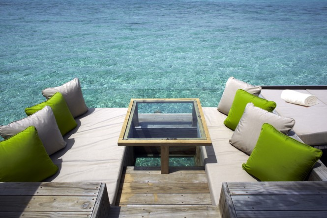 amazing deck maldives