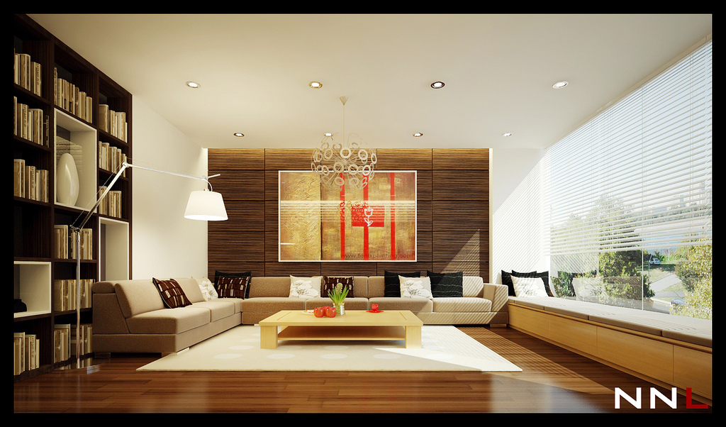 Zen living room design interior design ideas for Contemporary zen interior design
