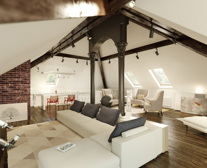 stylish loft
