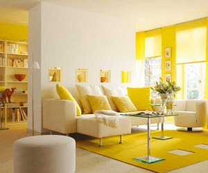 20 Yellow Living Room