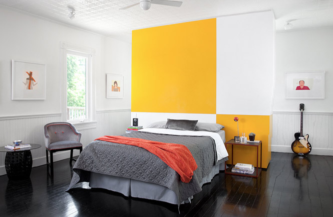 yellow grey bedroom favorite places spaces pinterest