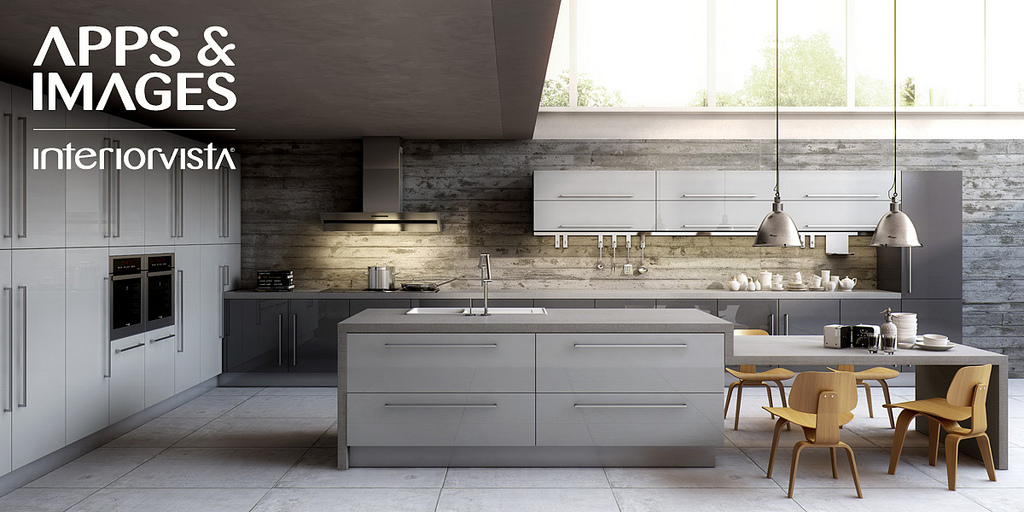 ... Kitchen White And Grey. Alfa ...
