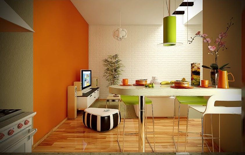 Fresh White Based Dining Spaces