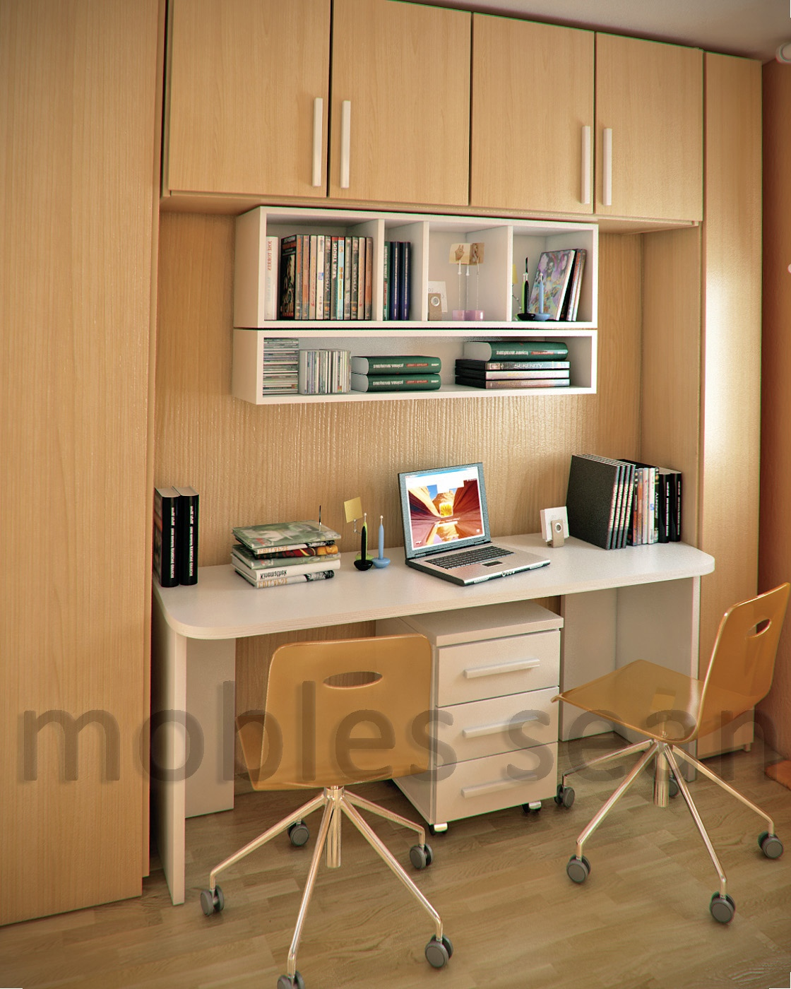Small Study Room At Home Interior Design Ideas