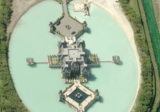 Charles Siegers Miami Castle with Moat