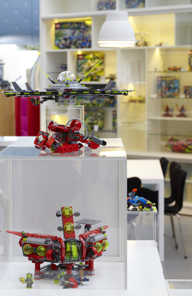 LEGO office toy display