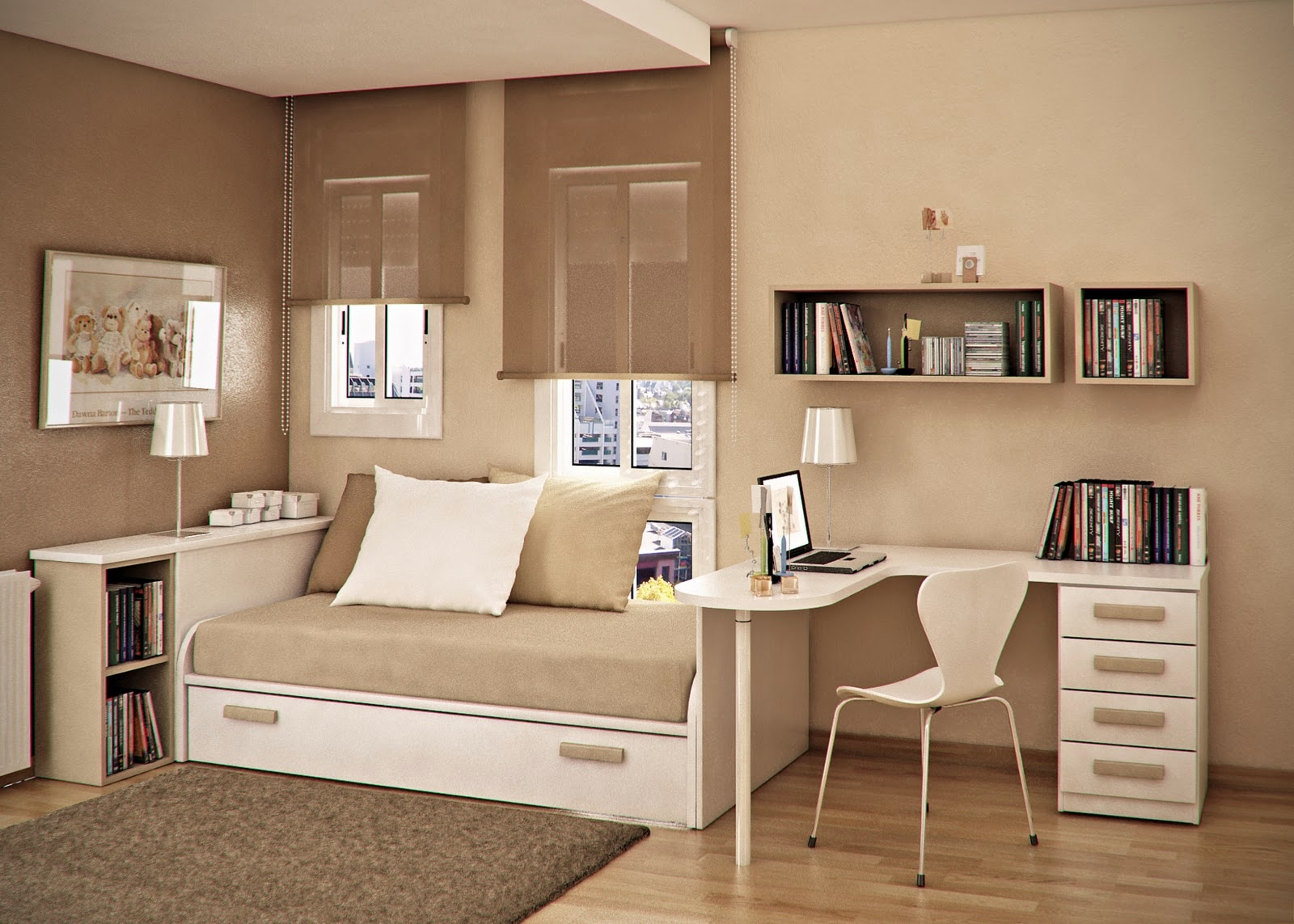 Small Beige Living Room Ideas