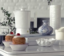 White dining render by BBB