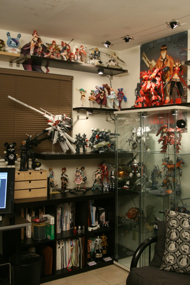 figurine collector cabinet