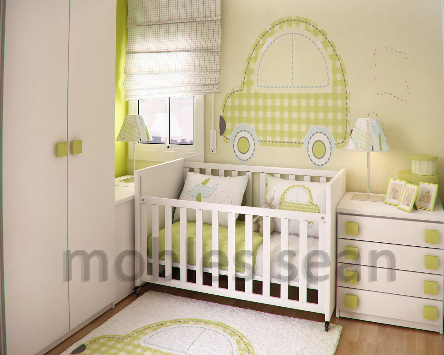 Home design ikea baby rooms for Baby room decoration pictures