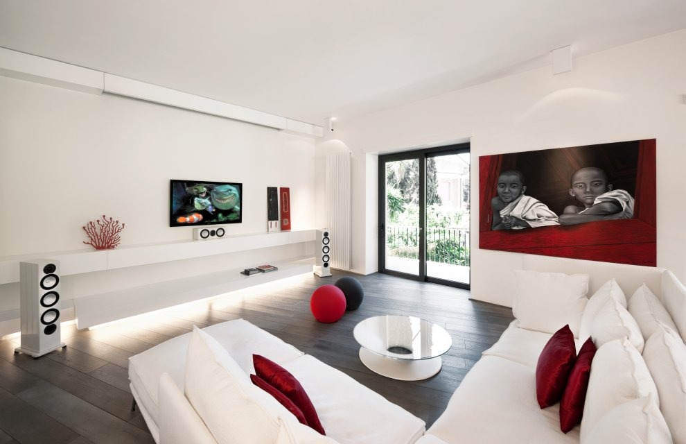 Incredible Red and White Modern Living Room 990 x 640 · 72 kB · jpeg