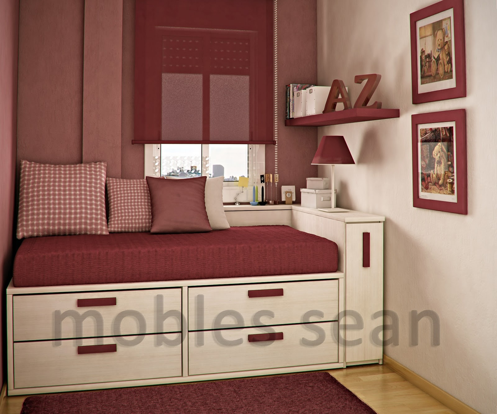 Color For Small Rooms Beauteous Of Room Design Ideas for Small Bedrooms Picture