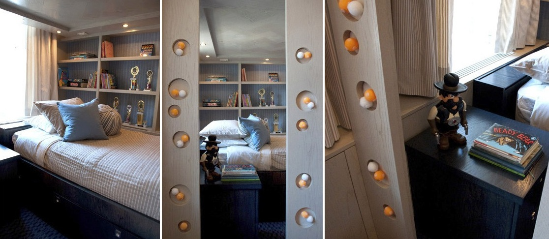Kids rooms climbing walls and contemporary schemes for Boys construction bedroom ideas