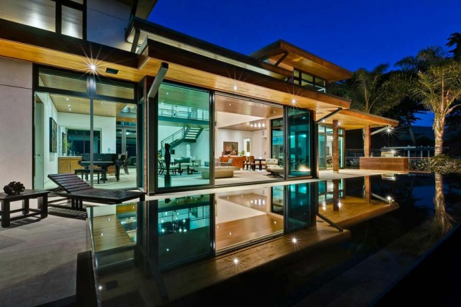 Contemporary architecture sundeck
