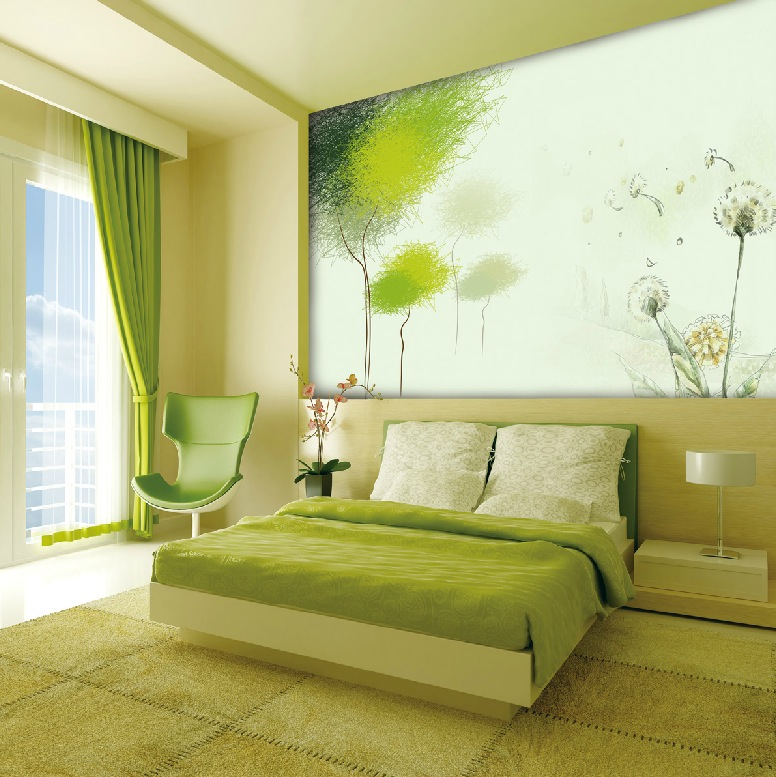 Green Rooms Ideas Pleasing With Green and White Bedroom Designs Pictures