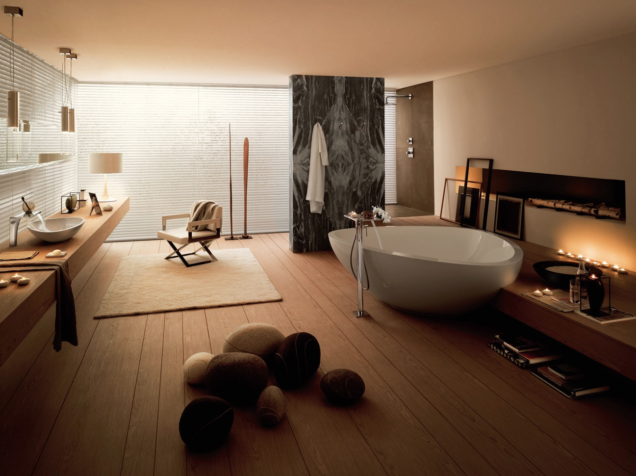 Bathrooms by rockstar designers jean marie massaud contemporary