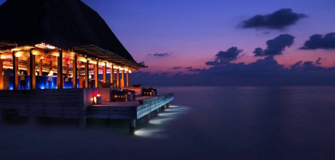 W Retreat Maldives Bar