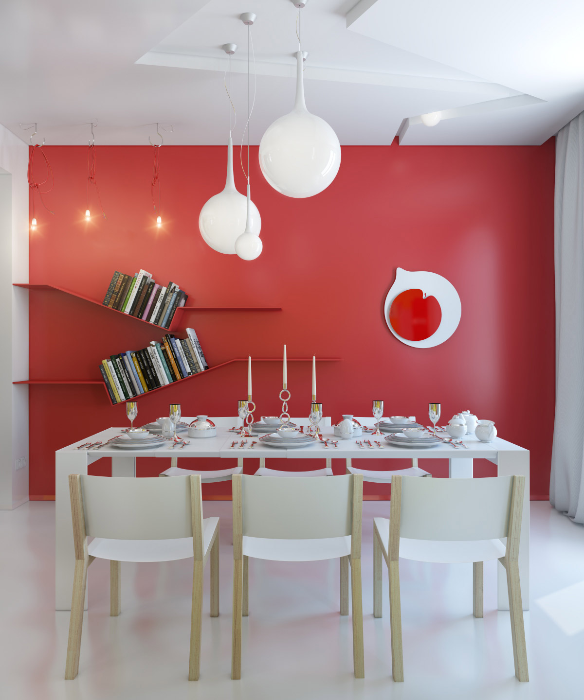 Outstanding Dining Room with Red Walls 1200 x 1440 · 198 kB · jpeg