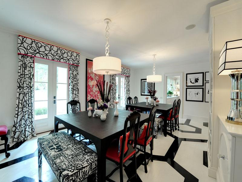 Outstanding Red White and Black Dining Rooms 800 x 600 · 81 kB · jpeg