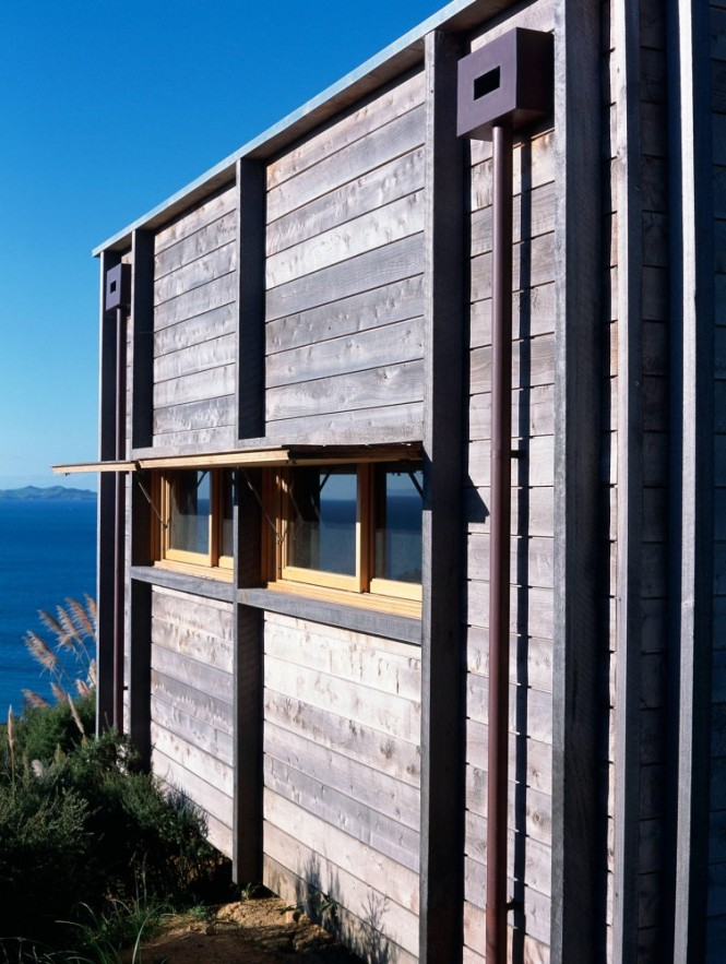 External wood cladding