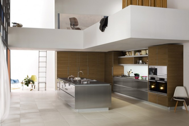 For those who prefer art to stay in the gallery, let open shelving display your most prized kitchen pieces, such as smooth earthenware bowls, sparkling glassware or vintage jelly moulds. The collections will bring a confident chef persona to your cooking space, whether you are a whiz in the kitchen or not!