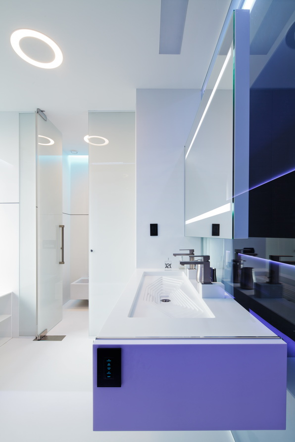 White bathroom scheme