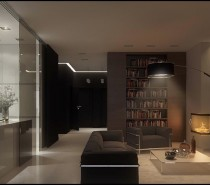 Don't seclude your scholarly collections in concealed bookcases, display your library on chunky open shelving for a sophisticated and learned look. You could even add a very on-trend library ladder to draw further attention to an extensive stack.