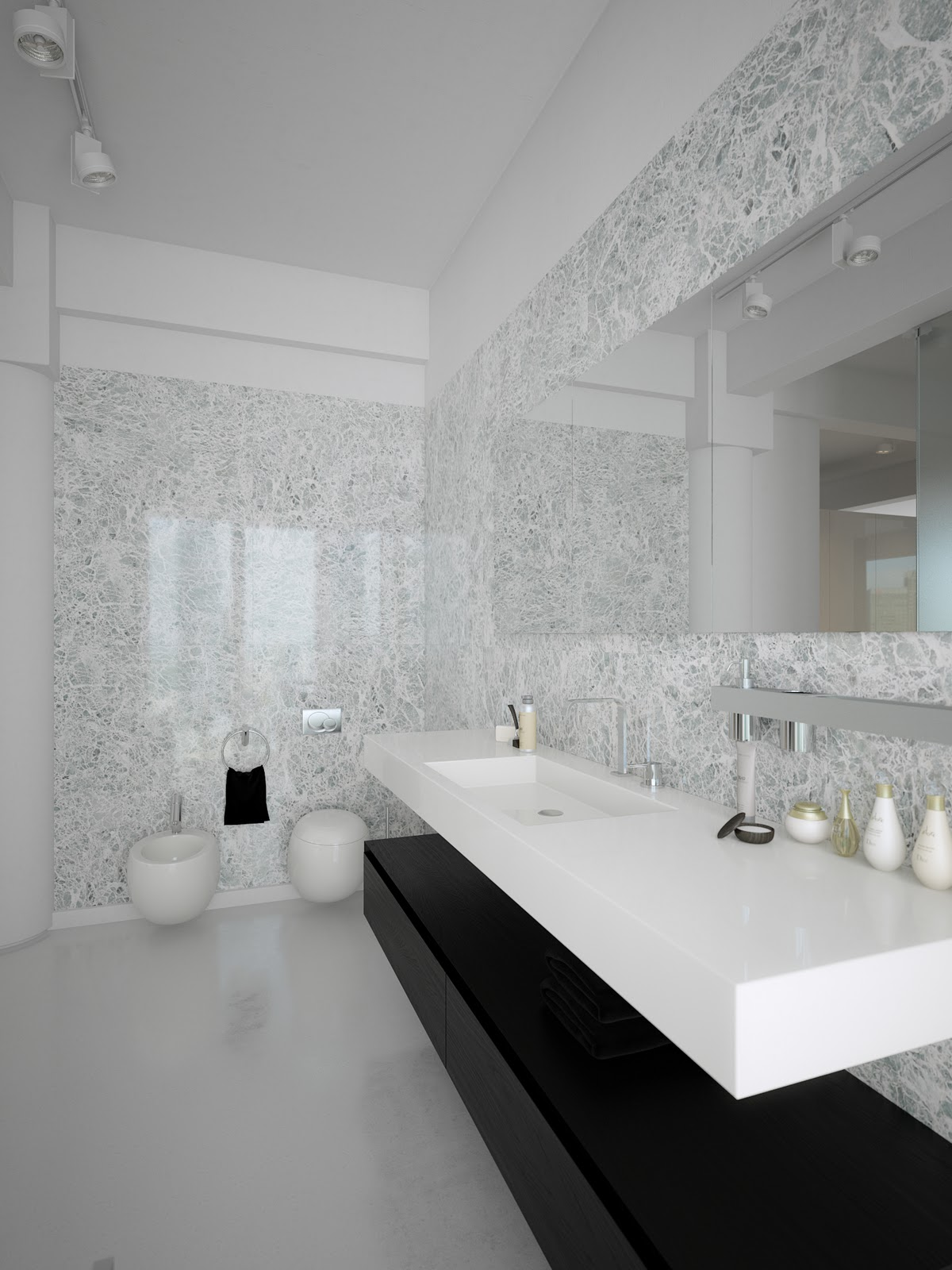 Contemporary bathroom designs modern world furnishing Modern design of bathroom