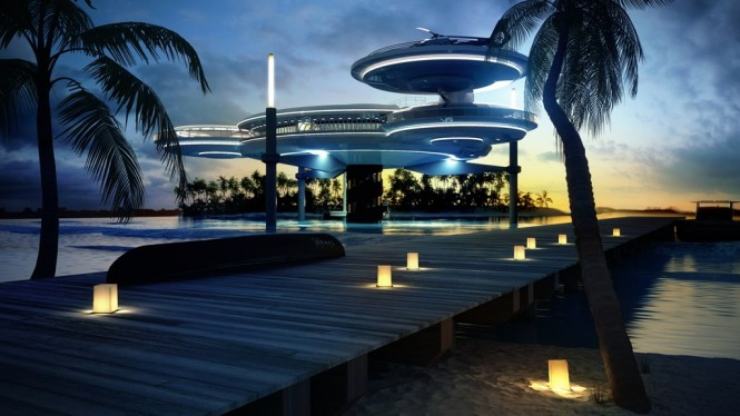 The Water Discus Underwater Hotel