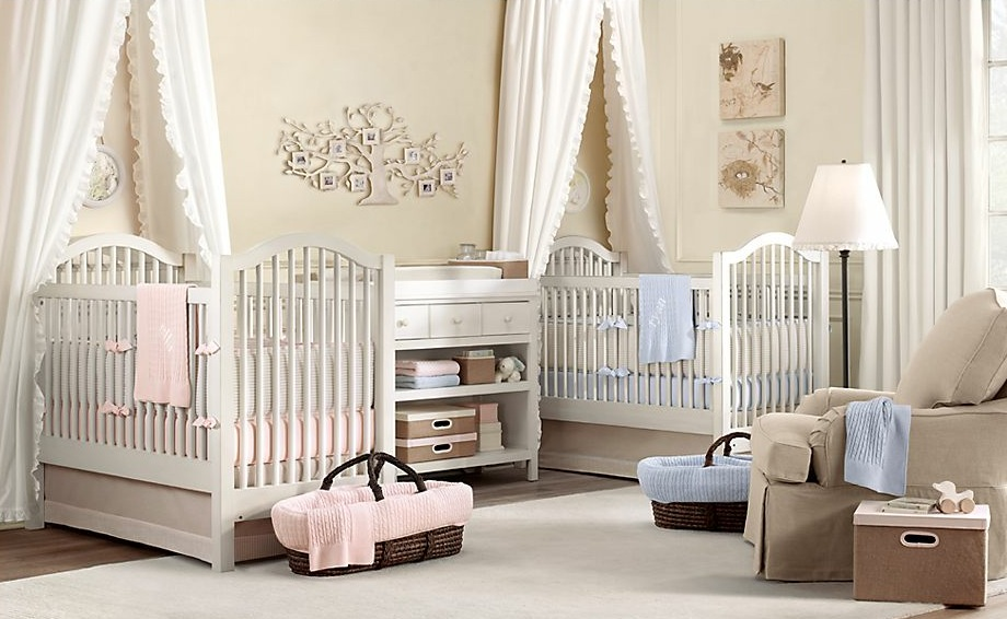 Magnificent Twin Baby Girl Nursery Room Ideas 920 x 566 · 139 kB · jpeg