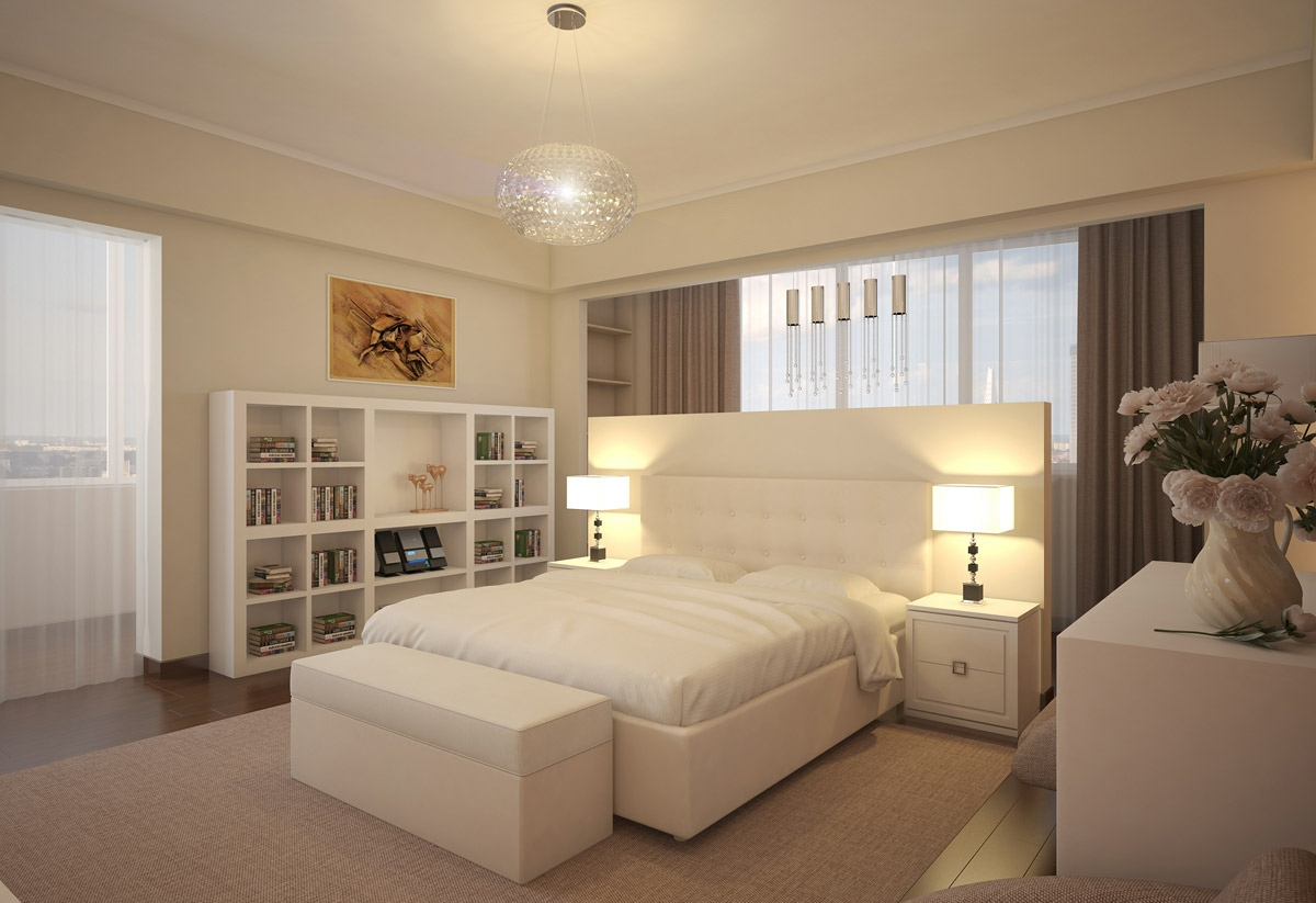 The Makings of a Modern Bedroom White bedroom design – Interior ...