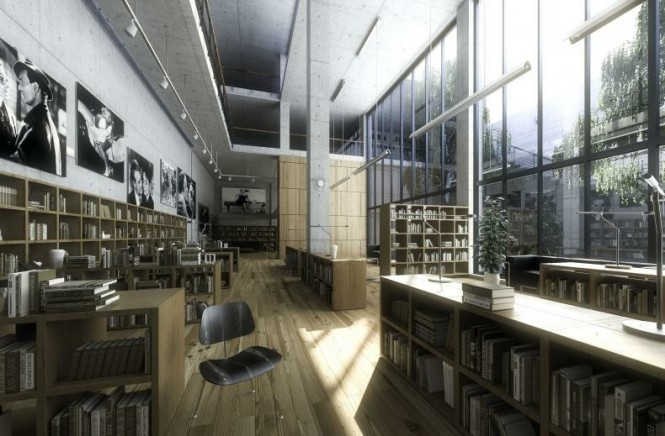 large library design