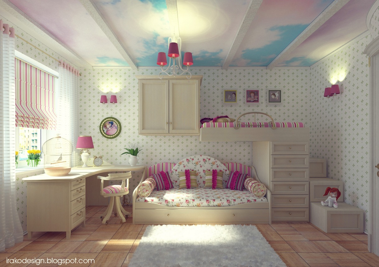 http://www.home-designing.com/wp-content/uploads/2012/07/Cloud-ceiling-mural-girls-room.jpg