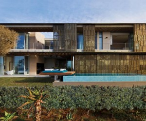 The dwelling is located in La Lucia, Durban, which is the largest city in the South African province of KwaZulu-Natal, and the third largest city in South Africa; Durban has also found fame in being the busiest port in South Africa, though this home is a picture of peace and serenity itself, situated on a seaside retreat right by the water's edge.