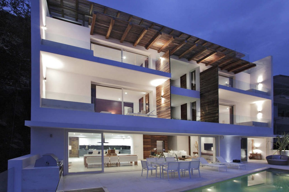 Amazing modern mexican home modern world furnishing designer Home architecture in mexico