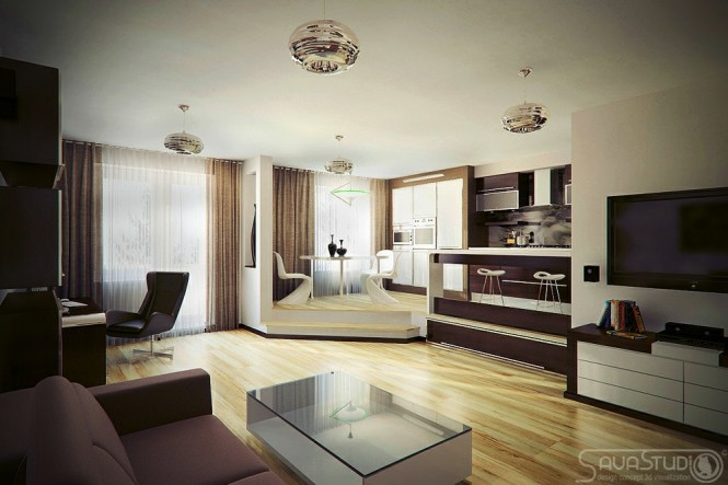 Neutral living area