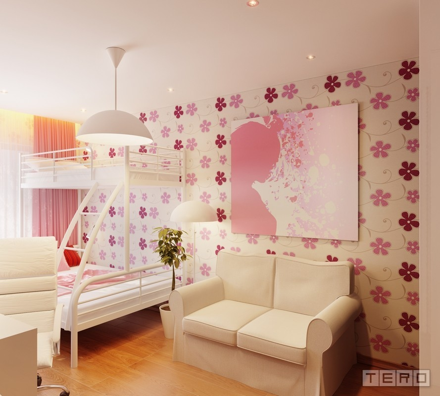 Cute girls 39 rooms for Girl room design ideas