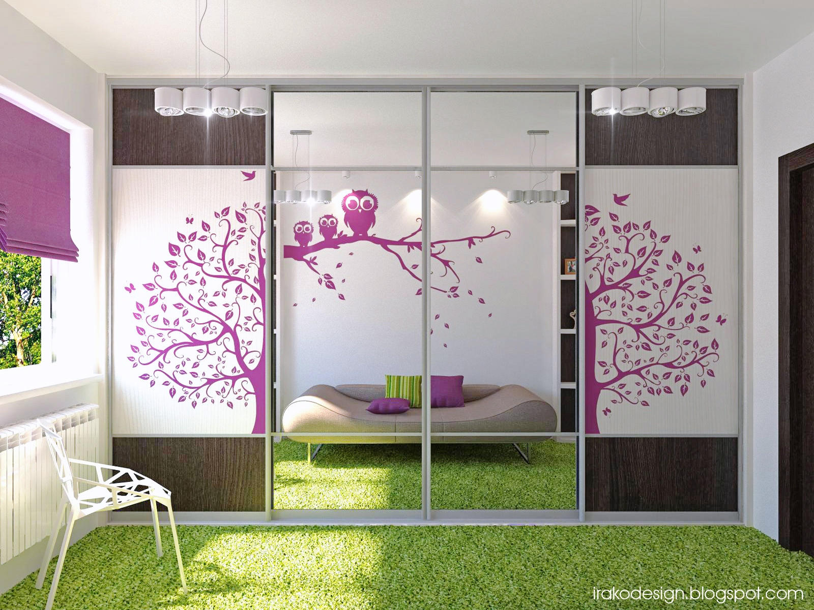 design ideas for teenage girl bedroom - bedroom |