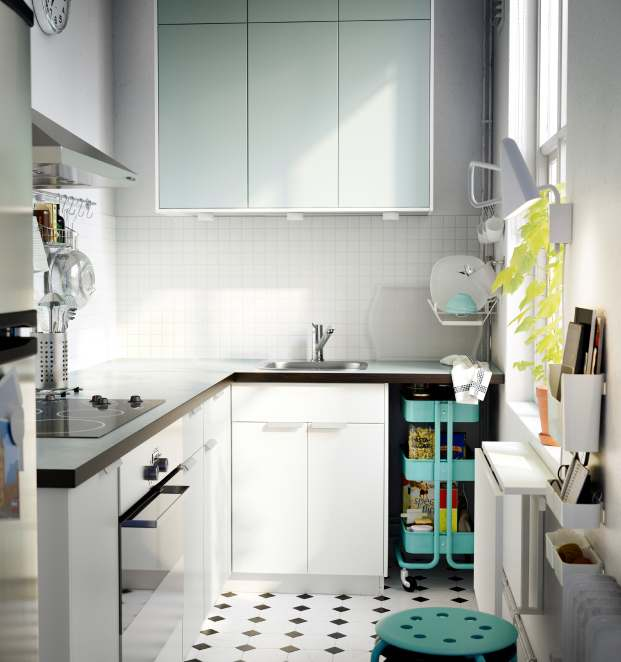 The kitchen pages are filled with more great space saving and versatile ideas to make day-to-day living easier with brilliant organization solutions.