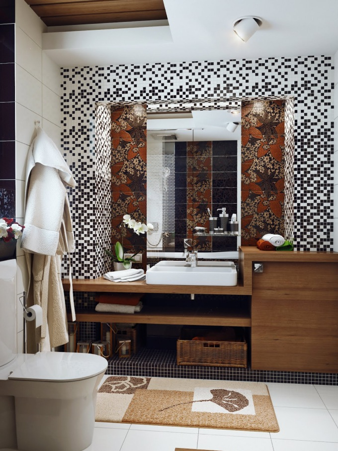 Bathroom so you can go edge to edge for a fully indulgent look