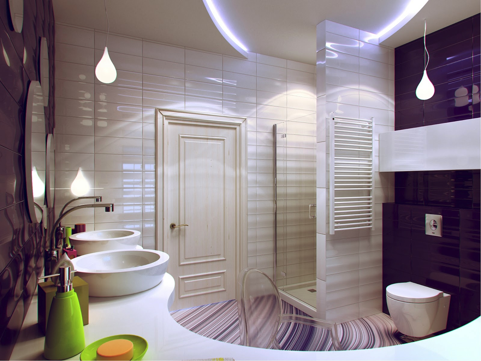 Bathroom Decorating Ideas 2012 - 25 cool bathrooms ideas