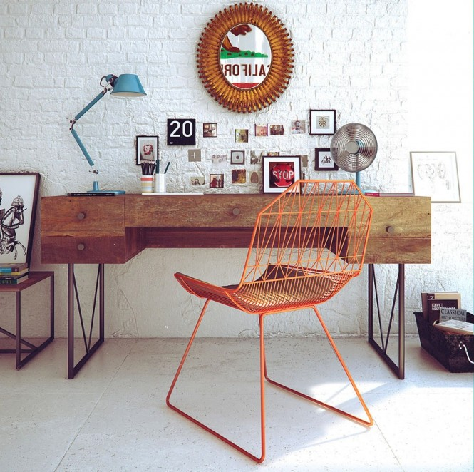 Above 2 via Andrey GoncharovThis retro styling brings oodles of fun and individuality, try visiting second hand shops and flea markets to source pieces of furniture that you wouldn't find on the high street, you might bag yourself a bargain too.