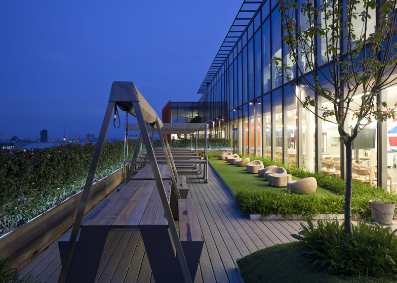 Google London Office Roof Garden – Interior Design Ideas