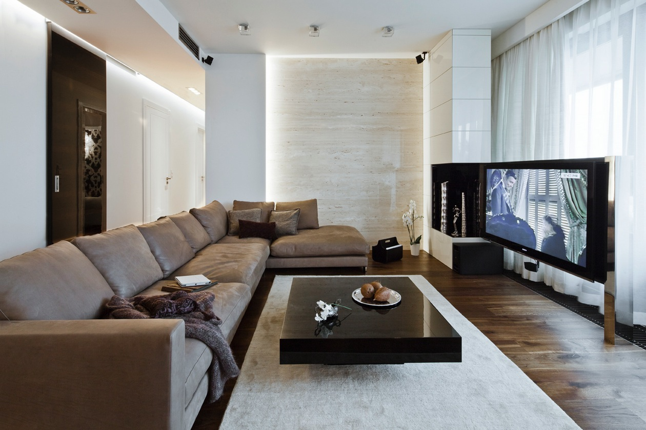 Sleek and Sumptuous Poland Apartment