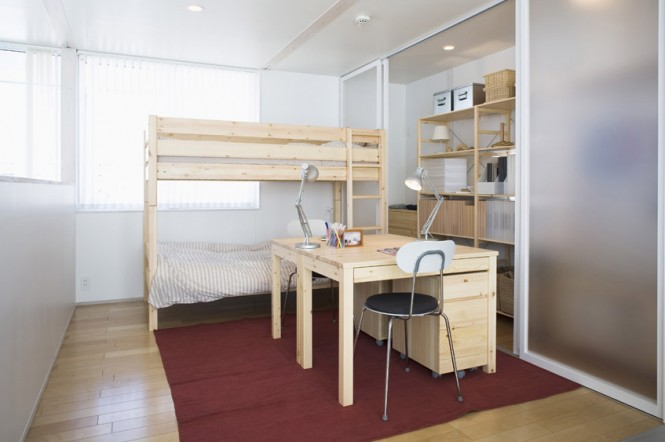 Pine bunkbeds