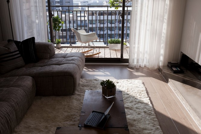 Living room balcony