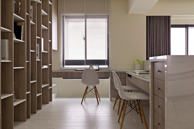 Large home office design