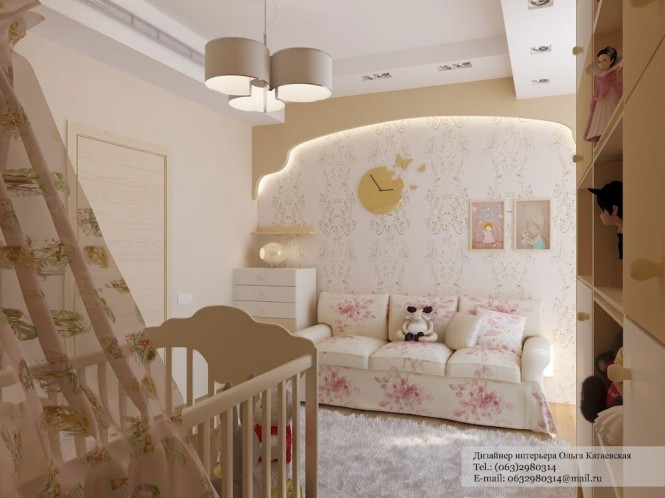 Pink traditional nursery