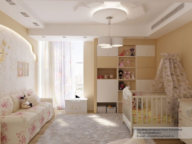 Pink white nursery