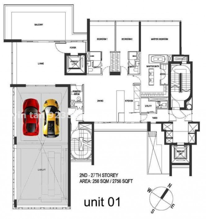 Portable garage PLAN